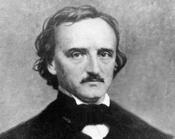 Edgar Allan Poe foto ficha