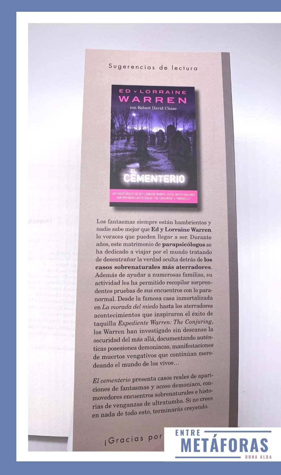 Cazadores de fantasmas, de Robert David Chase, Ed y Lorraine Warren