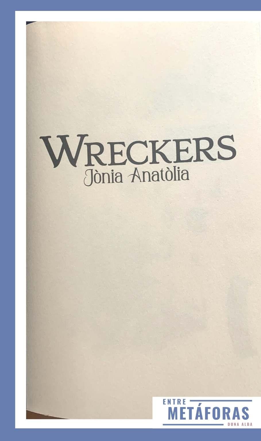 Wreckers de Jònia Anatòlia