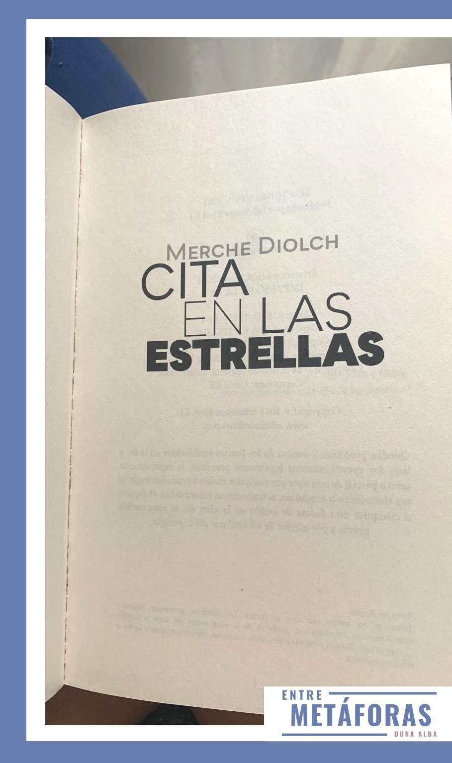 Cita en las estrellas, de Merche Diolch