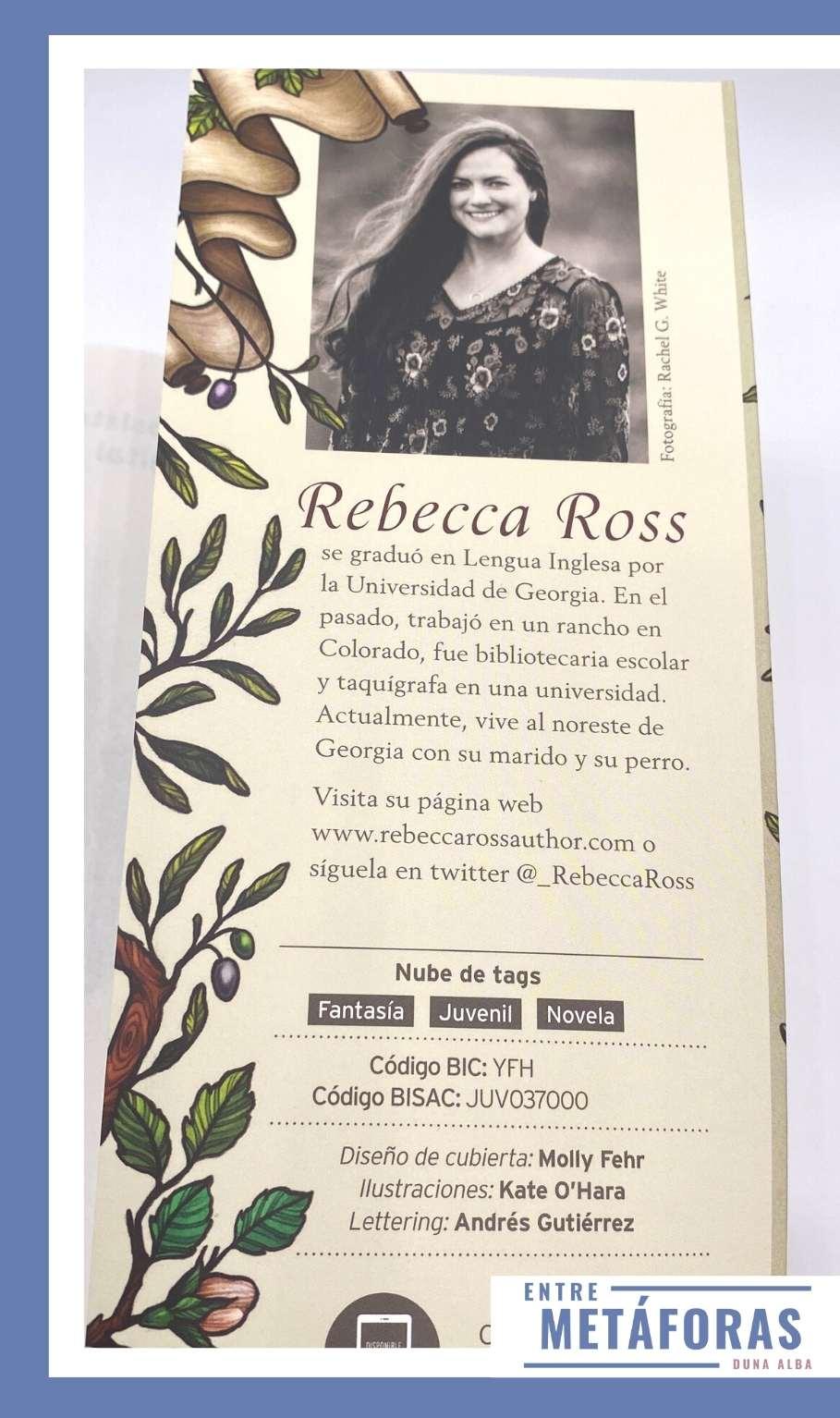 La canción de las hermanas, de Rebecca Ross
