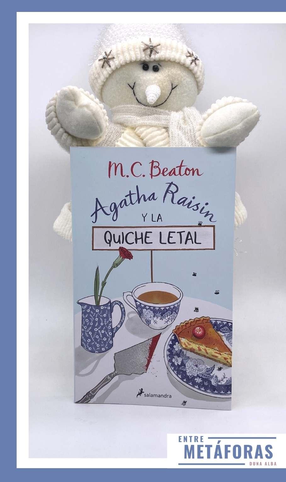 Agatha Raisin y la quiche letal, de M.C. Beaton