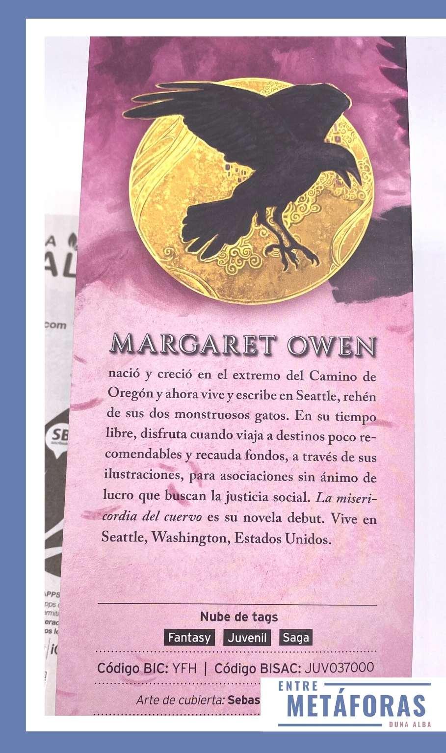 La misericordia del cuervo, de Margaret Owen
