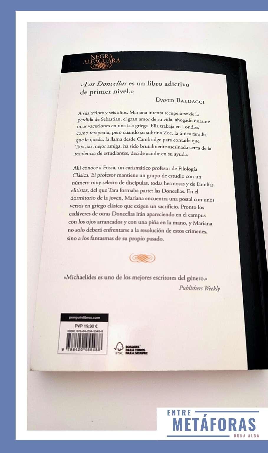 Las Doncellas, de Alex Michaelides